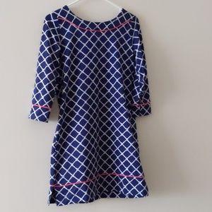 Lands end form Shift Dress Nylon/Stretch Size XS